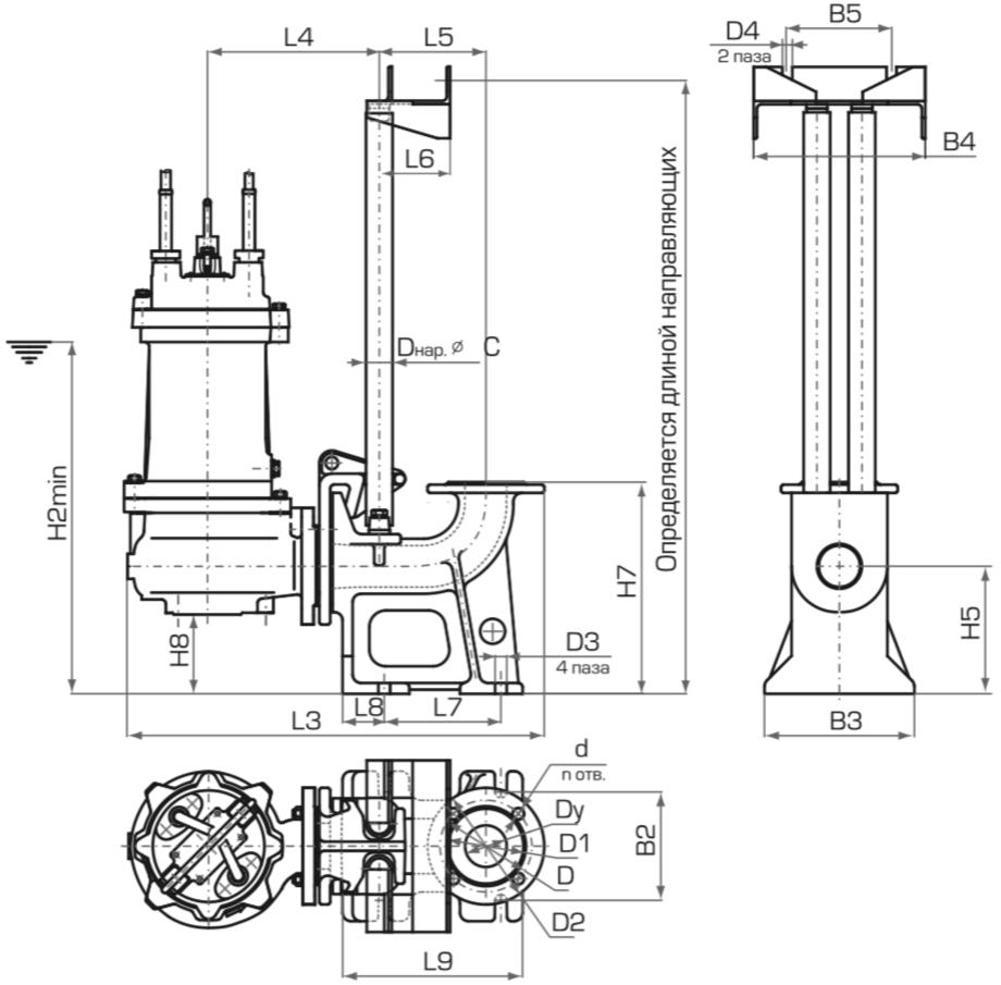 БСУ-К блок сигнализации и управления котельной