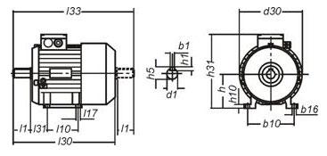 ae8c540daccca578bc7d9067523e433f Электродвигатель АДМ100L4 IM1081 4кВт 1500об/мин